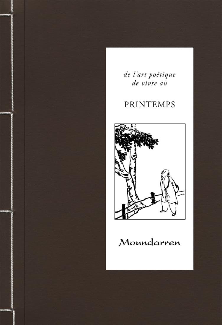 Couverture du livre De l'art poétique de vivre au printemps